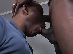 Watch what happens when he finall gets to break in that A-grade butt with his hard, black tool.