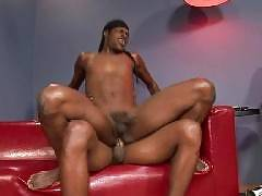These ebony stallions love to fuck each other in hot gay black sex. You can see their well hung huge cocks stretching out some assholes in ass penetrating scenes. Plus deepthroat blowjobs, anal rimming, and tons of cumshots. These hot ebony thugs are fuck