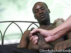 There`s nothing better than a relaxing hand job after a rough day at the office.