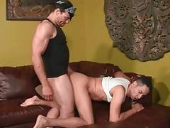 Turned on ebony lovers are fond of good anal fucking.