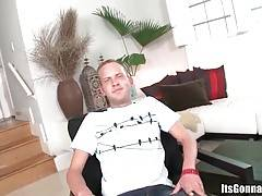 This white guy is sure he can handle huge black cock he`s soon to be offered.