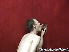 How do you like watching me stroke my young meat? Does it get you going? Are you breathing heavily and sweating? I`m gonna finish off in here but not before I take care of some black cock business. The beauty of being gay is the constant availability of d